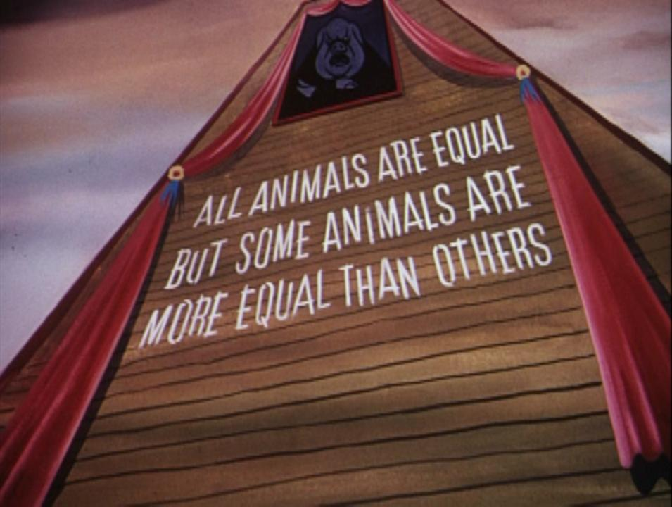 George orwell wrote animal farm to show the truth about human psychology and the nature of revolution.?